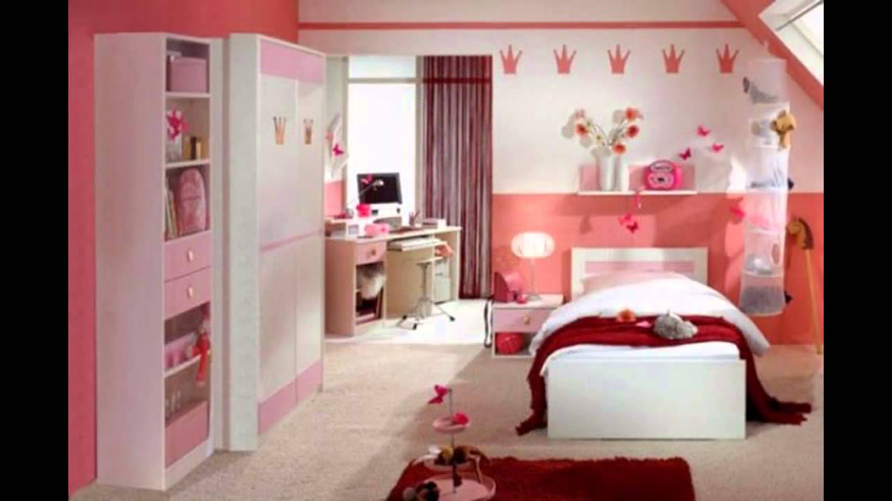 Cute Little girl bedroom design and decor ideas - YouTube