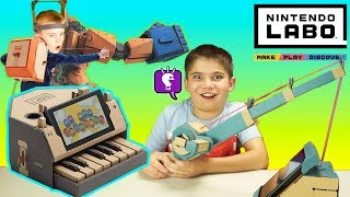Nintendo LABO Review by HobbyKidsTV