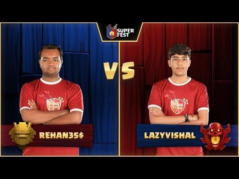#SuperFest - Clash Of Clans - 1V1 - Match 3