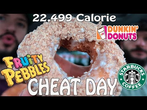 Epic Cheat Day | 22,499 CALORIES | Ep. 21