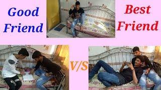 Good Friend vs Best Friend | real friends quotes | funny video | Bhai Bhai ki vines