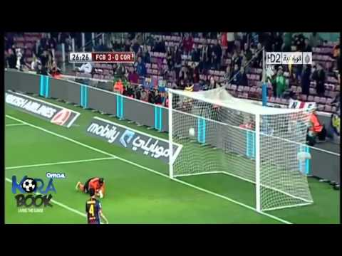 Barcelona vs Cordoba 5 : 0 All Goals & Highlights 10/01/2013 [HD]
