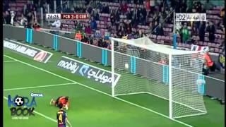 Barcelona vs Cordoba 5 : 0 All Goals & Highlights 10/01/2013 [HD]