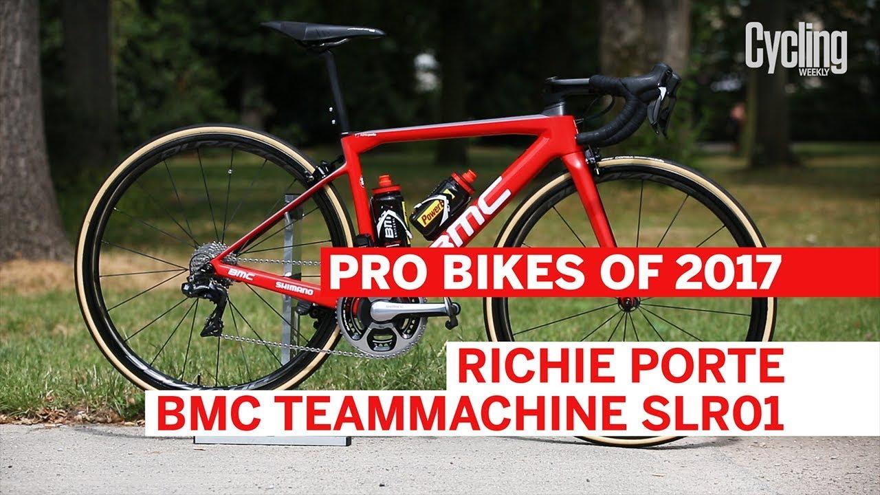 Richie Porte\'s BMC Teammachine SLR01   Pro Bikes of 2017   Cycling ...