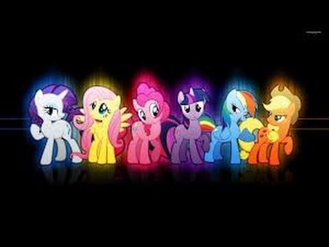 розовые пони ( Мой маленький пони)