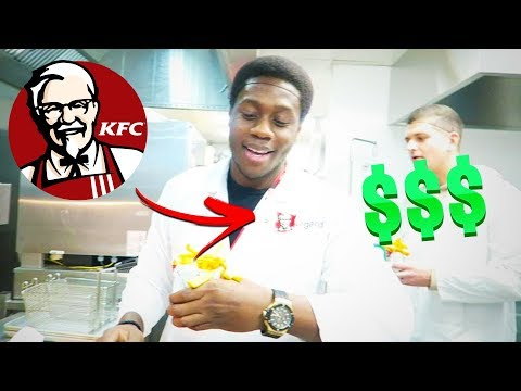 I Worked A Job At KFC For A Day & Here's What Happened...