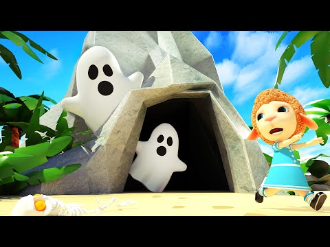 Dolly And Friends 3D | Kids And Johny Pretend Play Patrol Ghost Monster In The Cave #275