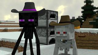 Monster School (Preschool) - The Great Hunt! - Minecraft Animation