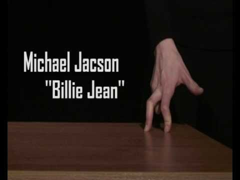Michael Jackson Billie Jean  Finger Dance