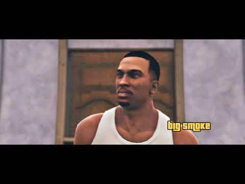 GTA SA (REMAKE CINEMÁTICO) EP: #1 - BIG SMOKE! (Rockstar Editor Cinematic Machinima)