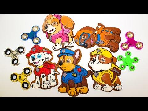 Щенячий патруль мультики про СПИННЕР Видео для детей Развивающие мультики Игрушки Magic Spinner