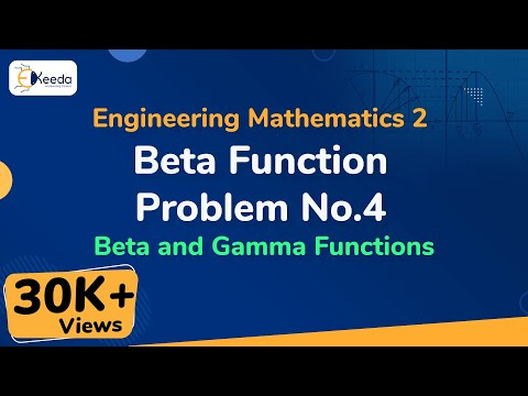 Beta Function Example 4 - Beta and Gamma Function - Engineering Mathematics 2