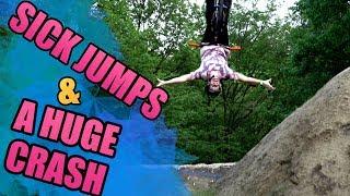 SICK JUMPS AND A HUGE CRASH