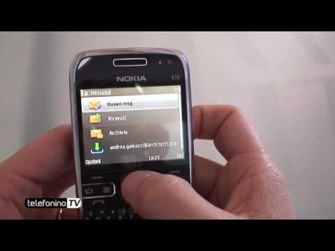 Nokia E72 videoreview da Telefonino.net