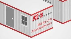 Onsite Storage Containers and Semi-Trailers for Construction (AT&S)