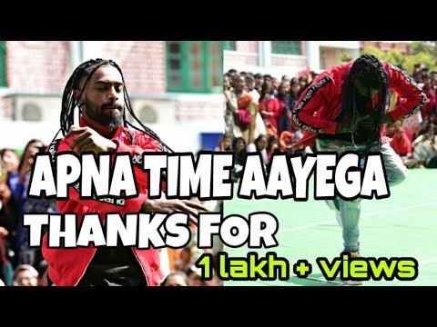 Apna Time Aayega !! Rahul Nayak R Warrior Crew