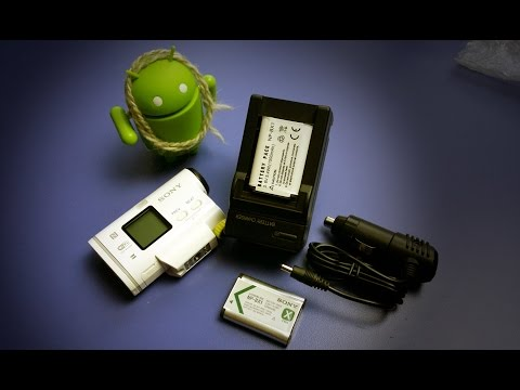 Китайские АКБ NP-BX1 и зарядка для моей экшн камеры Sony HDR-AS100V - Посылка из Китая с Aliexpress