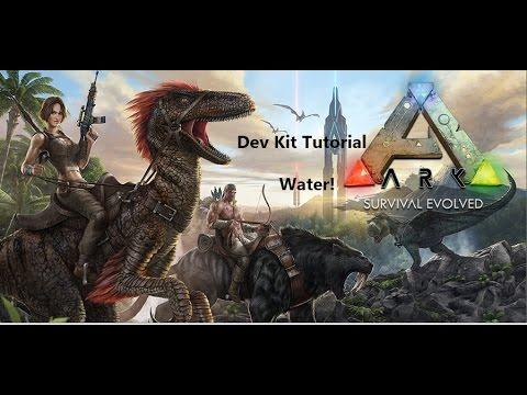 Beginners ARK DEV KIT Tutorial! Ep2  Water!