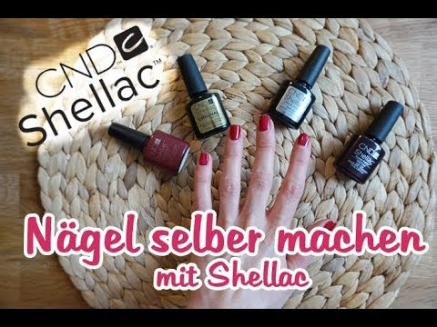 n gel selber machen mit shellac schritt f r schritt. Black Bedroom Furniture Sets. Home Design Ideas