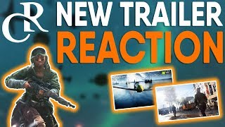 """Battlefield 5 NEW """"The Company"""" Trailer REACTION + Official BETA DATE"""