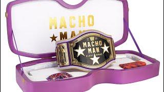 New WWE Macho Man Randy Savage Replica Belt My Opinion