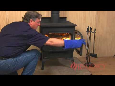 how to light maintain a wood stove fire youtube. Black Bedroom Furniture Sets. Home Design Ideas
