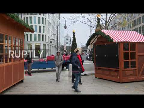 Germany: Berlin Christmas market to open amid tight security