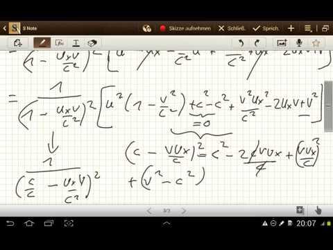 Die Lorentz Transformation der Newton Mechanik