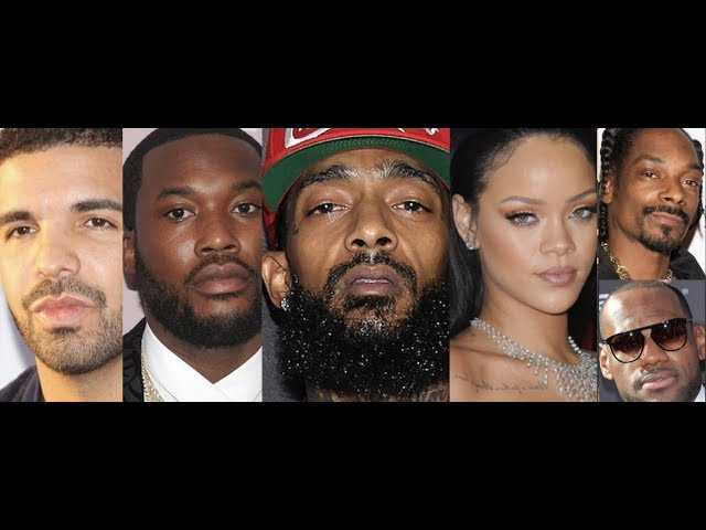 Drake, Meek Mill, Lebron James, Rihanna  Snoop and The Culture REACTS to NIPSEY Hussle and Remembers