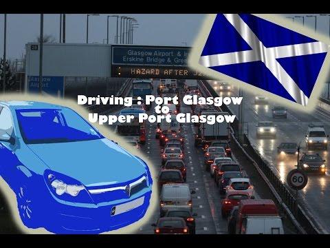 Port Glasgow to Upper Port Glasgow