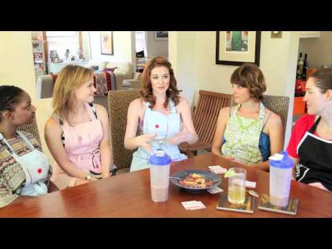 Sarah Drew does Sunday SetUp™ with Kathy Kaehler