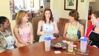 Sarah Drew does Sunday Set-Up™ with Kathy Kaehler