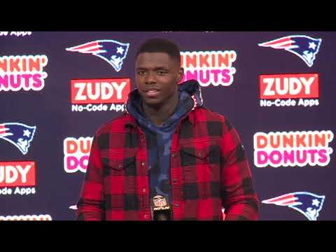 Josh Gordon Patriots vs. Colts Week 5 Postgame Press Conference