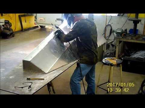 Marine Aluminum Fuel Tank