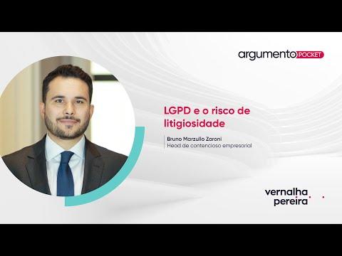 LGPD e o risco de litigiosidade | Argumento Pocket 21