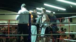 White Collar Fight Club - Mat Thorn vs Arron Mullis