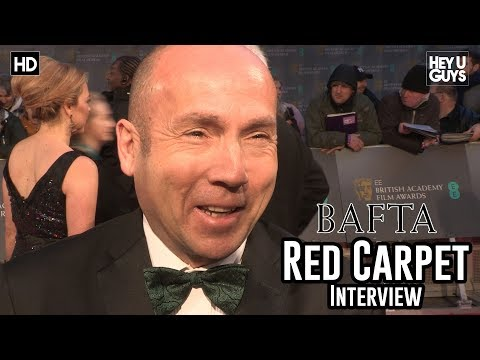 The Shape of Water Producer J. Miles Dale  BAFTA Awards 2018 Red Carpet