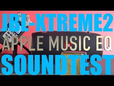 JBL Xtreme2 Apple Music App Equalizer