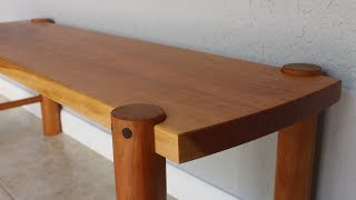 Making a Cherry Bench with Shop Made Dowels