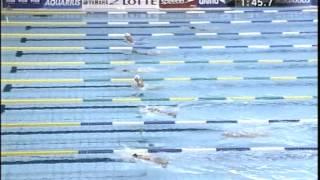 日本選手権 2005 決勝 100m自由形(細川大輔) 200m平泳ぎ (北島康介)