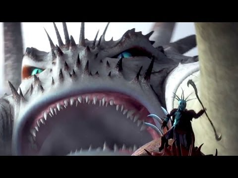 The Gigantic Dragon How To Train Your Dragon Movie Clip