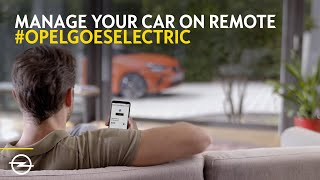 Car Remote by Opel. e-Mobility made easy.