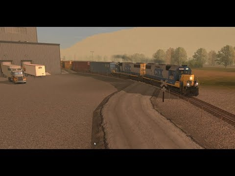 Trainz a New Era: The Three Rivers Lumber local freight