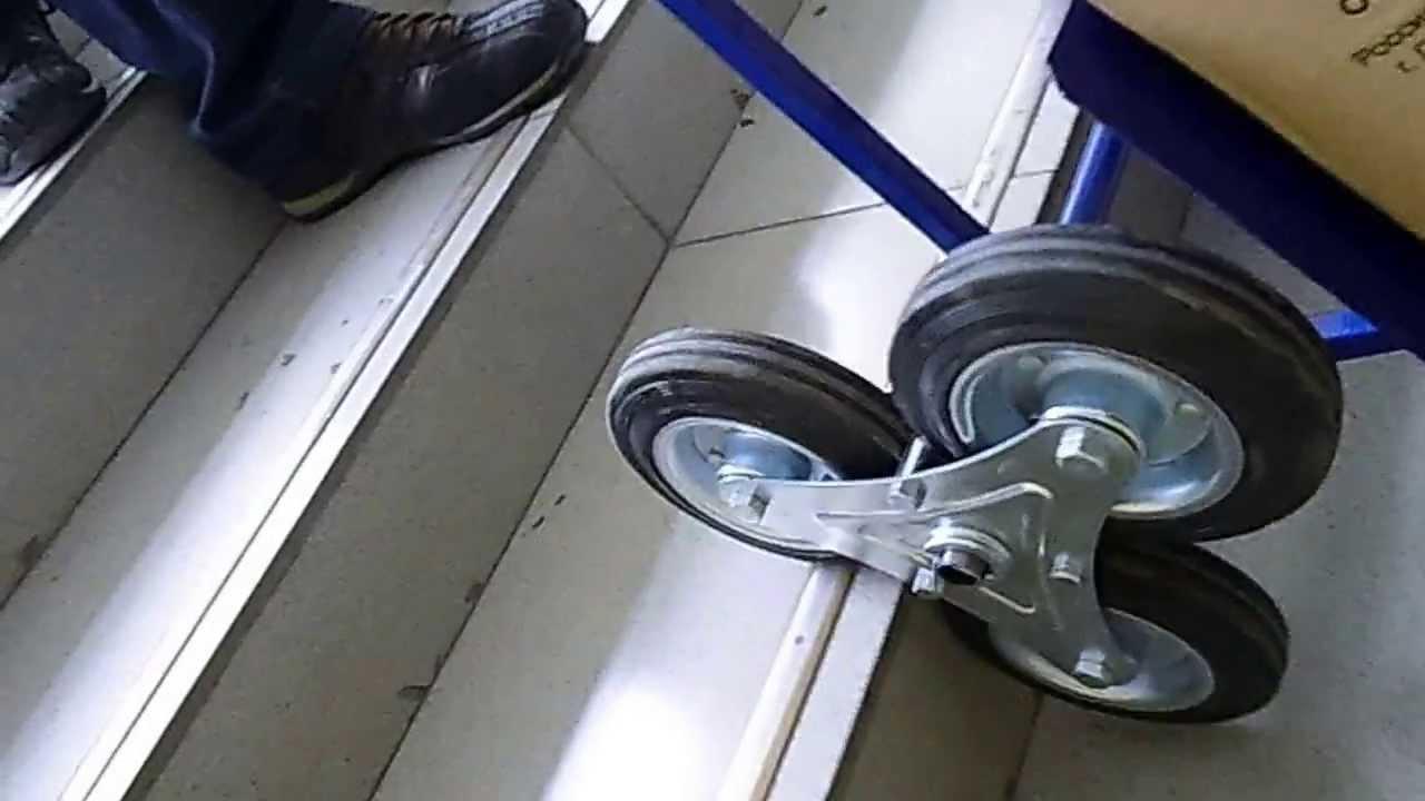 Тележка грузовая двухколесная LSP20 - YouTube
