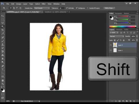 How To Make A Picture Png In Adobe Photoshop CS6