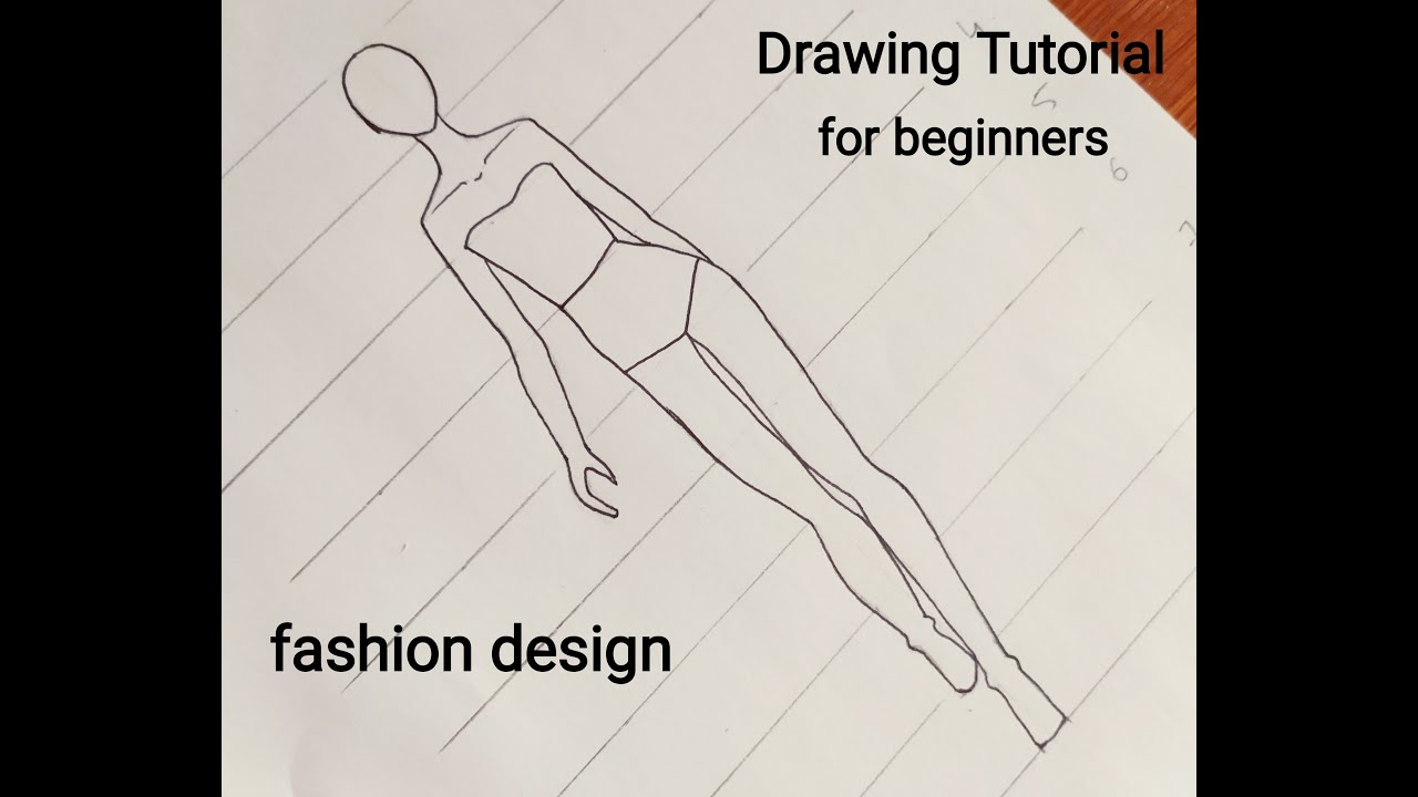 Tutorial Fashion Mannequin For Beginners Youtube