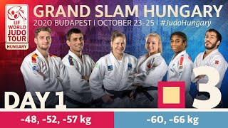 Grand Slam Hungary 2020 - Day 1: Tatami 3
