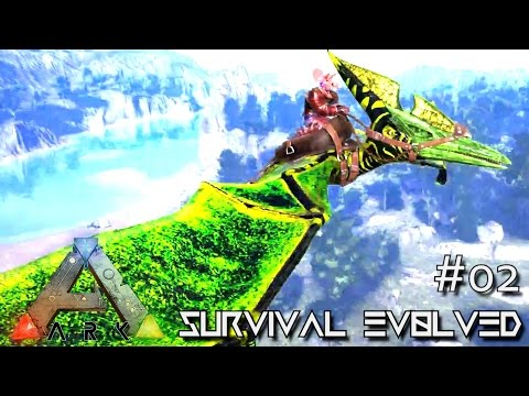 ARK: ANNUNAKI GENESIS - POISON BA PTERANODON TAME !!! E02 (ARK SURVIVAL EVOLVED GAMEPLAY)