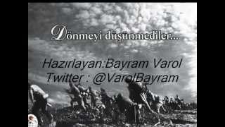 Başbakan Recep Tayyip Erdoğan'dan ÇANAKKALE ŞEHİTLERİNE şiiri RTE