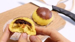 Pudding in Pudding Steamed Bun
